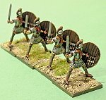 20mm HaT Late Roman heavy infantry