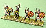 20mm HaT Late Roman light infantry